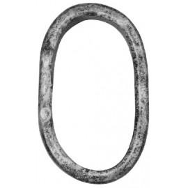 Ozdobný krúžok 16 x 8 mm