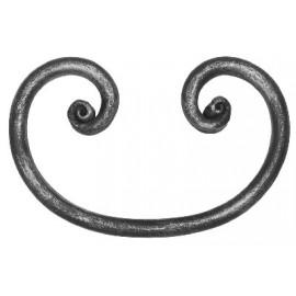 Ozdobné céčko Ø 12 mm