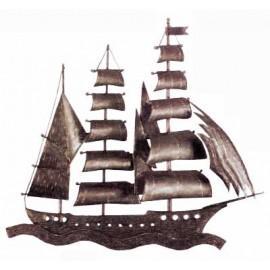 Ozdobný element - loď - pravý