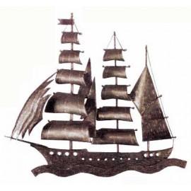 Ozdobný element - loď - ľavý