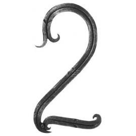 Číslo domu - výška 18cm