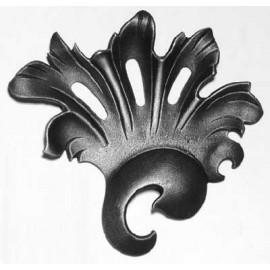 Ozdobný kvet- ľavý