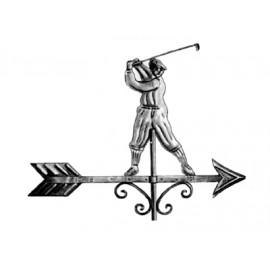 Zástava golfistu z medi