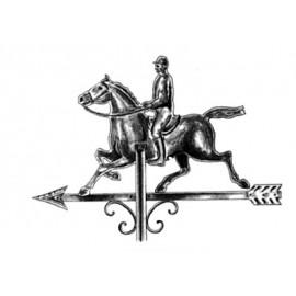 Zástava jazdca z medi