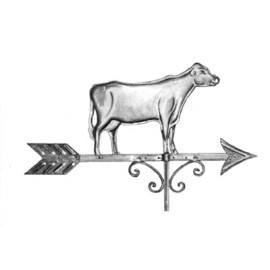 Zástava kravy z nereze