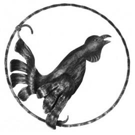 Ozdobný kohút - ľavý