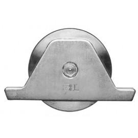 Koliesko pre posun brány Ø 117 mm pozinkované