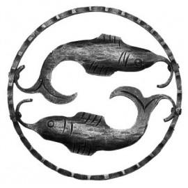 Znamenie - ryby - ozdobný element