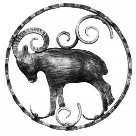 Znamenie - baran - ozdobný element