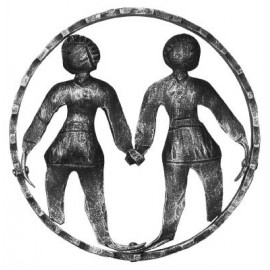 Znamenie - blíženci - ozdobný element
