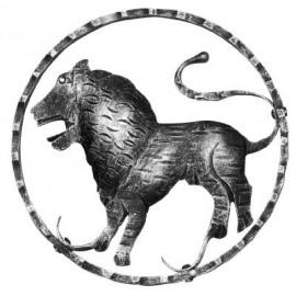 Znamenie - lev - ozdobný element