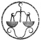 Znamenie - váhy - ozdobný element