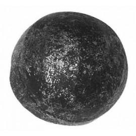 Ozdobná guľa 50 mm kovaná