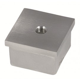 Nerezový štupel 30 x 30 x 2 mm