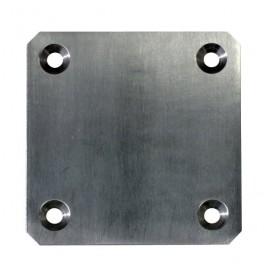 Kotviaca platnička na zábradlie 150 x 150 x 10 mm