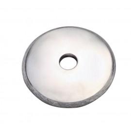 Nerezová platnička vypuklá 58 x 5 mm