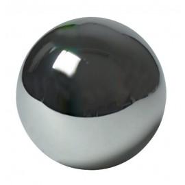 Ozdobná guľa dutá pochrómovaná 65 mm