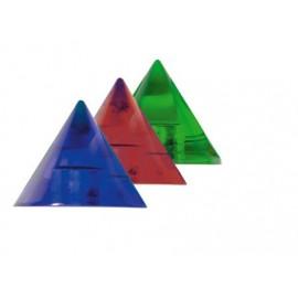 Sklenený kužeľ modrý 35 mm