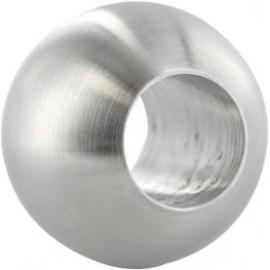 Guľa plná nerezová 20 mm s otvorom 10.2 mm