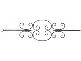 Ozdobné kovové tyče
