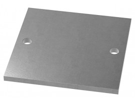 Oceľové kotviace platničky štvorcové