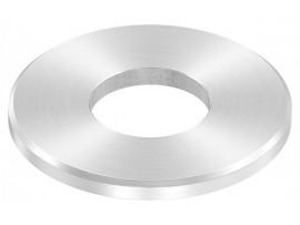 Nerezové kotviace platničky okrúhle 1-dierové