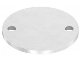 Nerezové kotviace platničky okrúhle 2-dierové