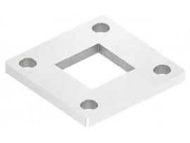 Nerezové kotviace platničky štvorcové
