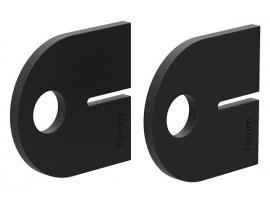 Gumené podložky VSG 12.76 mm