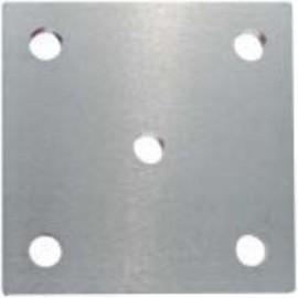 Kotviaca platnička na zábradlie 100 x 100 x 6 mm