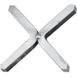 Oceľový kríž 100 x 100 mm