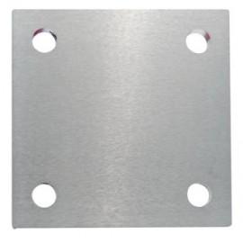 Kotviaca platnička z nereze 92 x 92 x 6 mm