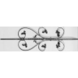 Ozdobná baroková tyčka 12 x 12 x 900 mm